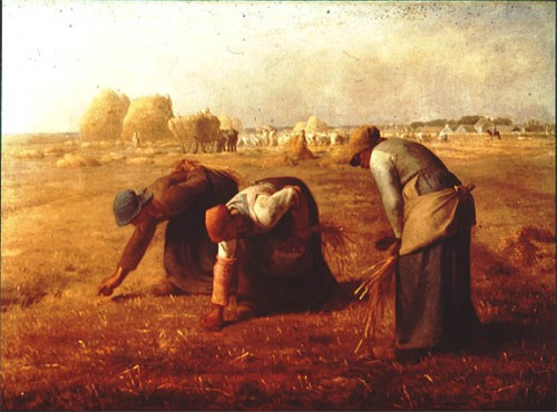 The Gleaners  Jean Francois Milet  1857
